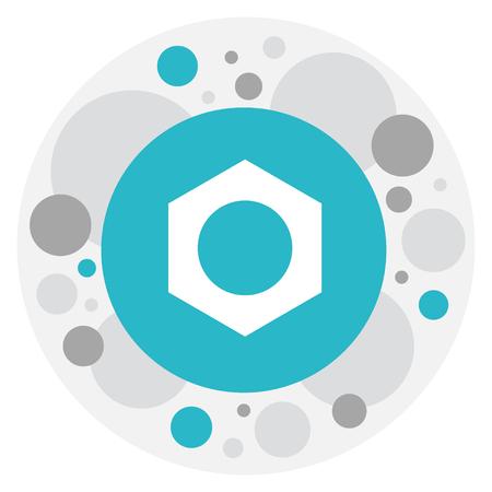 exchanger: Tools Symbol On Nut Icon