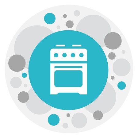 Cooker Icon Ilustração
