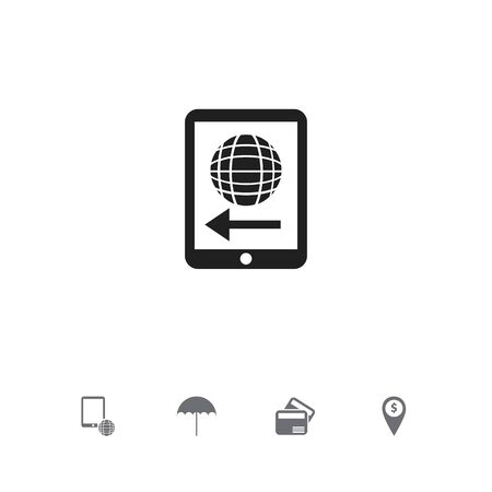 Set Of 5 Editable Investment Icons. Includes Symbols Such As Electronic Retail, Insurance, Exchange Center And More