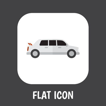 Automobile Flat Icon.