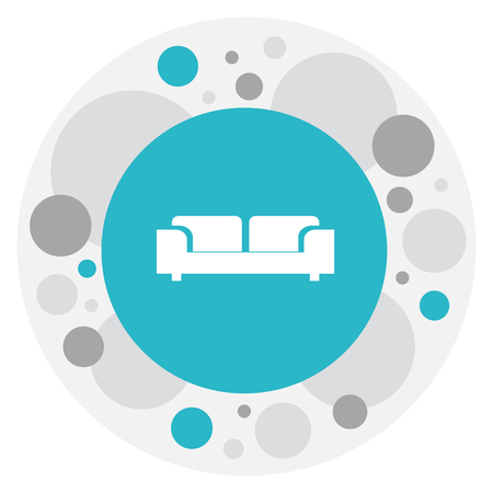 Vector Illustration of couch icon