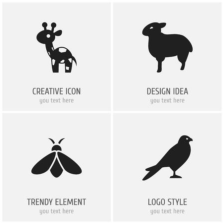 Zoology Icons.