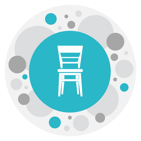 Vector Illustration Of Interior Symbol On Elbow Chair Icon. Premium Quality Isolated Armhair  Element In Trendy Flat Style.