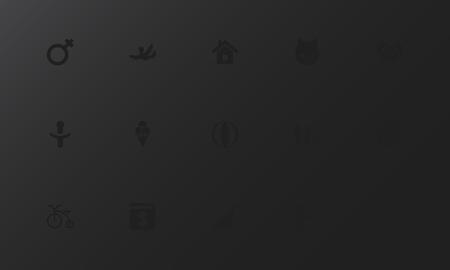 Ensemble de 15 icônes de personnes modifiables. Comprend des symboles tels que fauteuil, maison, sucette et plus. Peut être utilisé pour le web, mobile. Banque d'images - 94404204