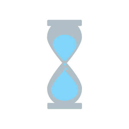 Deadline icon vector isolated on white background