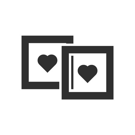 Polaroid icon vector isolated on white background for your web and mobile app design, Polaroid logo concept