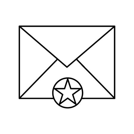 Mail icon vector isolated on white background for your web and mobile app design, Mail logo concept