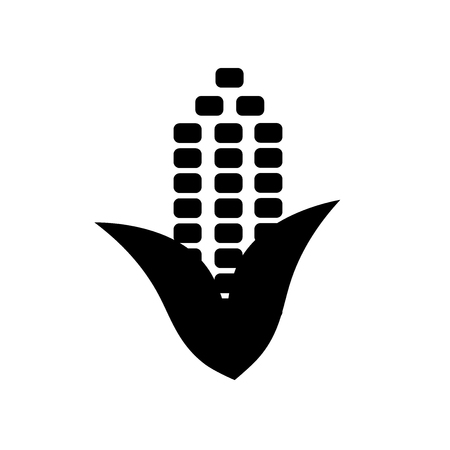 Corn icon vector isolated on white background for your web and mobile app design, Corn logo concept