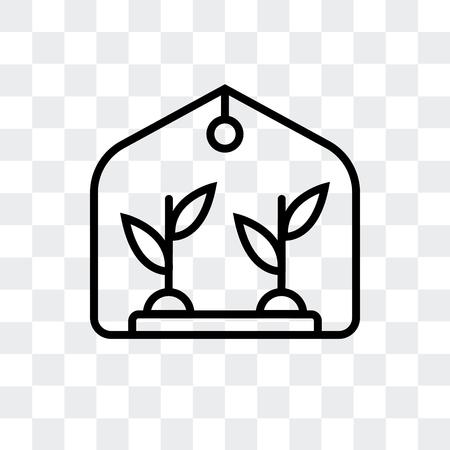 vector huisje geïsoleerd op transparante achtergrond, huis logo concept