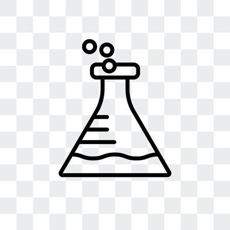 Icône de vecteur de ballon isolé sur fond transparent, concept logo ballon