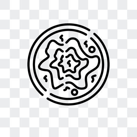Zongzi vector icon isolated on transparent background, Zongzi logo concept
