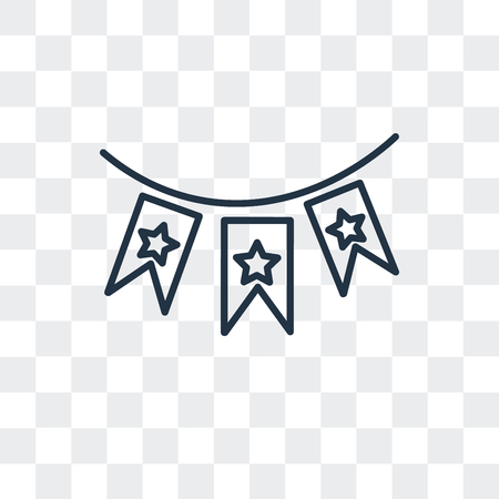 Amusement park vector icon isolated on transparent background, Amusement park logo concept Stock Illustratie