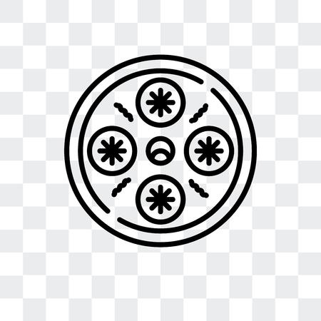 Xiao long bao vector icon isolated on transparent background, Xiao long bao logo concept
