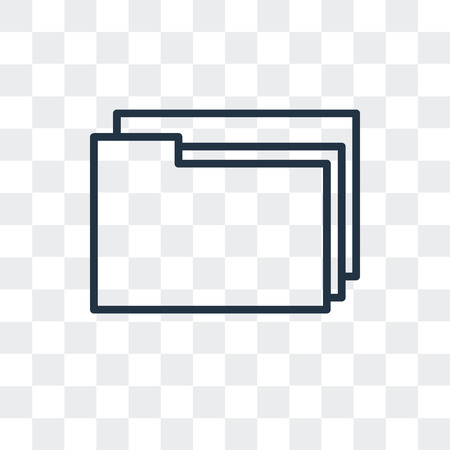 File vector icon isolated on transparent background