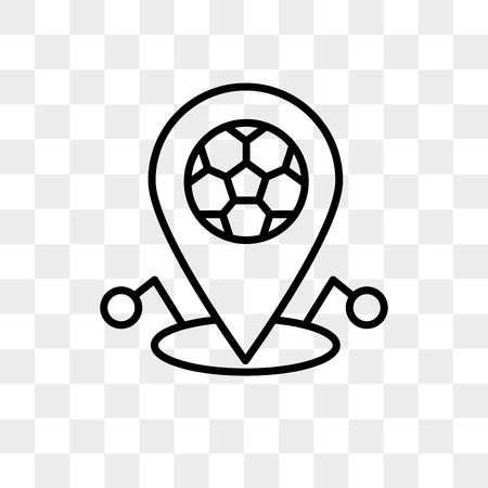 Point vector icon isolated on transparent background, Point logo concept