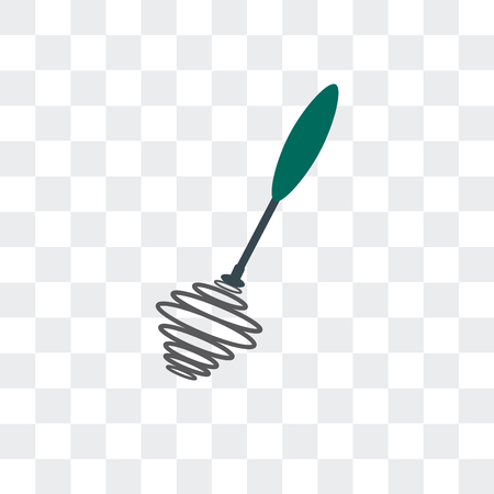 Whisk vector icon isolated on transparent background, Whisk logo concept Illustration