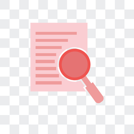 Analyze vector icon isolated on transparent background, Analyze logo concept