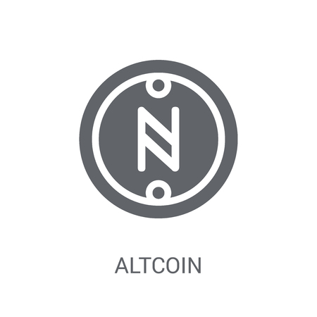 Altcoin icon. Trendy Altcoin logo concept on white background from Cryptocurrency economy and finance collection. Suitable for use on web apps, mobile apps and print media.