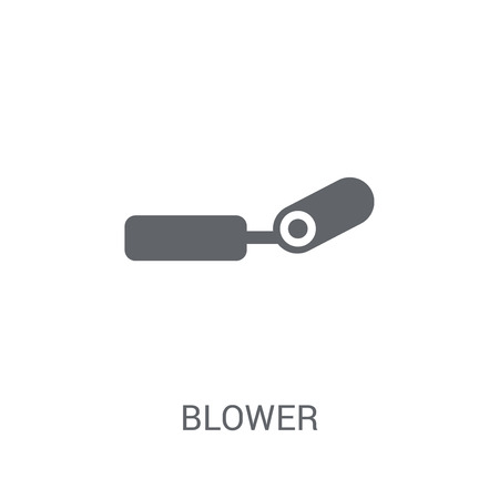 Blower icon. Trendy Blower logo concept on white background from Birthday party and wedding collection. Suitable for use on web apps, mobile apps and print media.