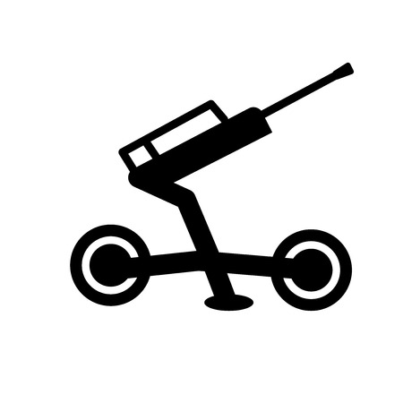 artillery icon. Trendy artillery logo concept on white background from army and war collection. Suitable for use on web apps, mobile apps and print media.