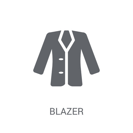 Blazer icon. Trendy Blazer logo concept on white background from Clothes collection. Suitable for use on web apps, mobile apps and print media.