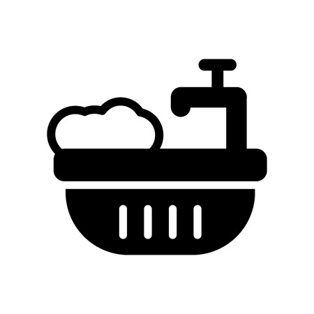Water soak icon. Trendy Water soak logo concept on white background from cleaning collection. Suitable for use on web apps, mobile apps and print media.