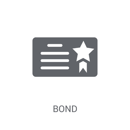 Bond icon. Trendy Bond logo concept on white background from business collection. Suitable for use on web apps, mobile apps and print media.