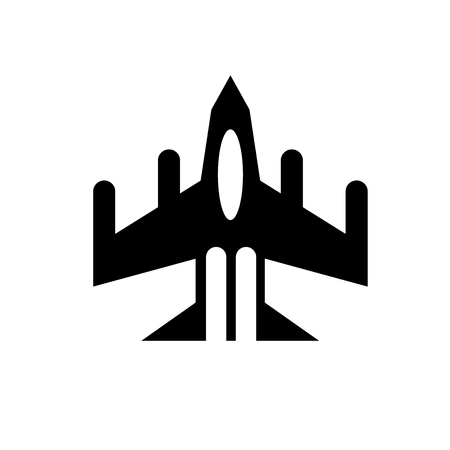 Air force icon. Trendy Air force logo concept on white background from army and war collection. Suitable for use on web apps, mobile apps and print media.