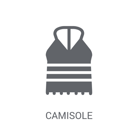 Camisole icon. Trendy Camisole logo concept on white background from Clothes collection. Suitable for use on web apps, mobile apps and print media.