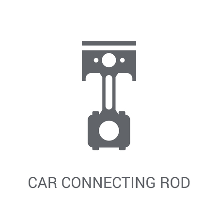 car connecting rod icon. Trendy car connecting rod logo concept on white background from car parts collection. Suitable for use on web apps, mobile apps and print media.