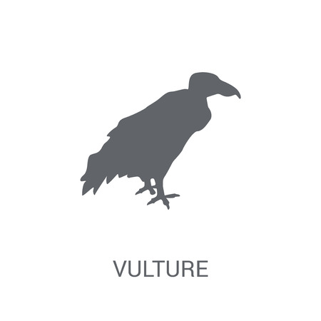Vulture icon. Trendy Vulture logo concept on white background from animals collection. Suitable for use on web apps, mobile apps and print media.