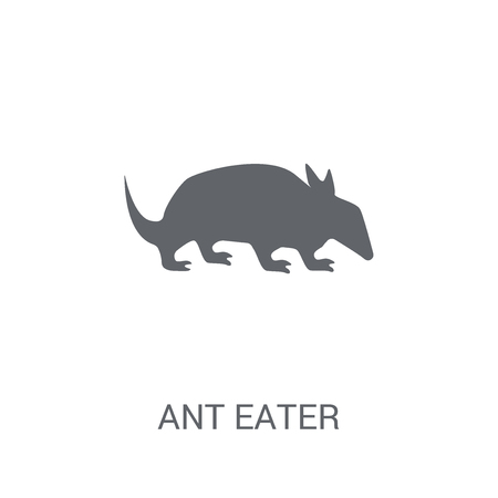 Ant eater icon. Trendy Ant eater logo concept on white background from animals collection. Suitable for use on web apps, mobile apps and print media.