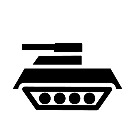 Tank icon. Trendy Tank logo concept on white background from army and war collection. Suitable for use on web apps, mobile apps and print media.