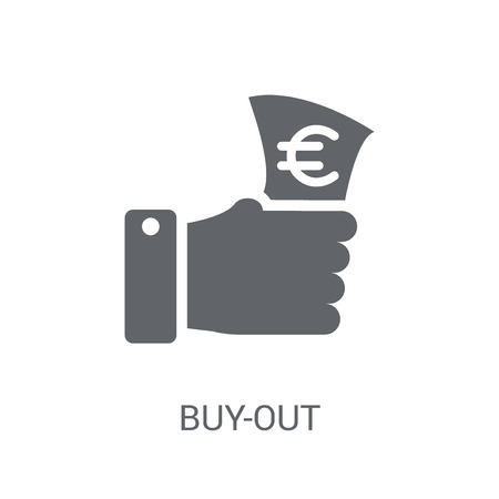 Buy-out icon. Trendy Buy-out logo concept on white background from business collection. Suitable for use on web apps, mobile apps and print media.