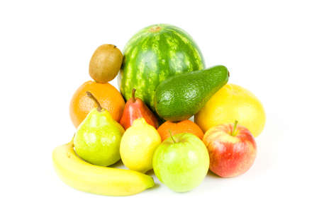 vitamines: Color tropical healthy fruit and citrus full vitamines