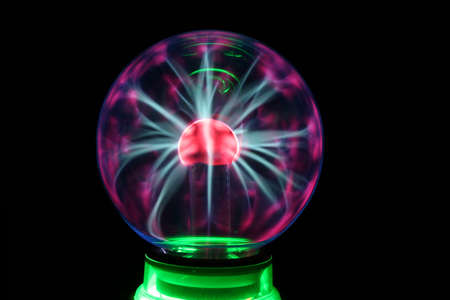 Tesla generator site rated power to the plasma decorative ball photo