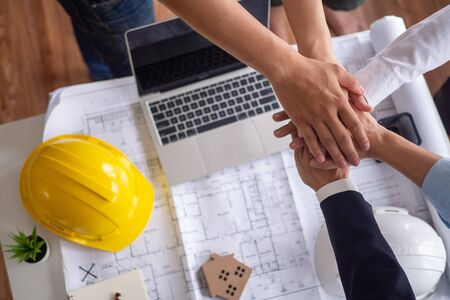 Working together as a team, brainstorming, editing, and proposing various methods for successful work between a team of contractors, engineers, and architects.