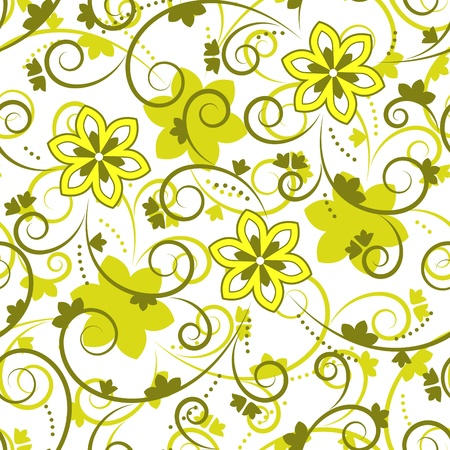 wallpaper: seamless floral texture