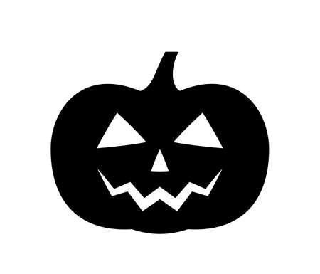 vector halloween pumpkin isolated on white background Ilustração
