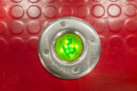emergency stair: emergency light