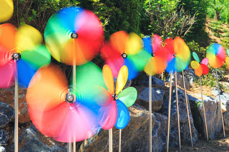 pinwheels: the colorful weather vane