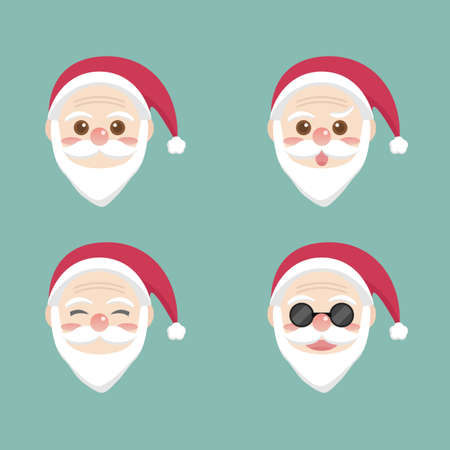 santa claus face: Santa Claus face Illustration