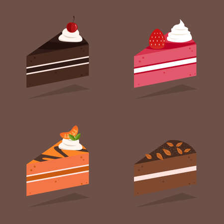 flavors: Pieces of cake flavors