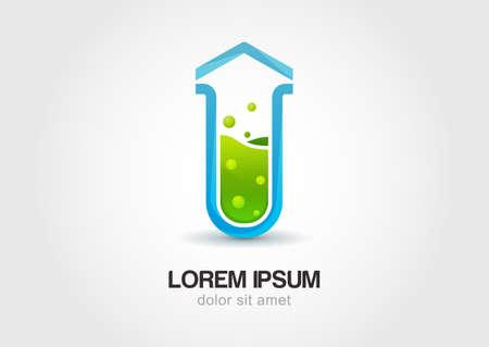 lab test: Arrow flask, lab icon.