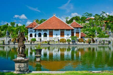 showplace: Ujung Water Palace showplace in Karangasem Regency, Bali, Indonesia. Editorial