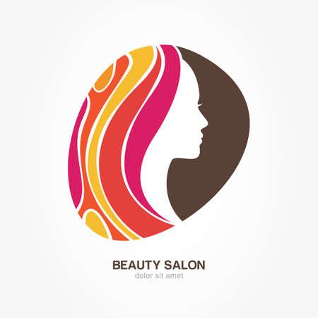 creative beauty: Beautiful woman Illustration