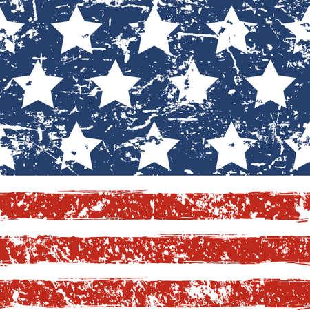 Feliz el 4 de julio, Día de la Independencia EE.UU.. Vector grunge de fondo sin fisuras. Resumen concepto de diseño de la acuarela tarjetas de felicitación, bandera, aviador, cartel.