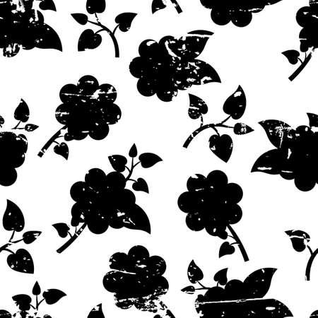 Schönes Nahtloses Muster Mit Dekorativen Rosafarbenen Blumen Und ...