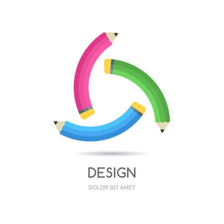 looped: looped creative logo design template