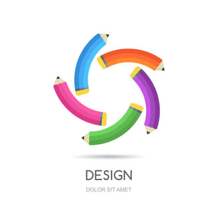 looped: looped creative logo design template